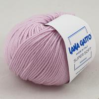 Lana Gatto Super Soft (05285 розовый) 100% меринос экстрафайн 50 г/125 м