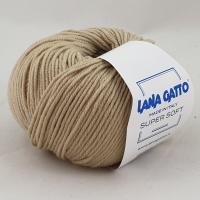Lana Gatto Super Soft (14522 бежевый) 100% меринос экстрафайн 50 г/125 м