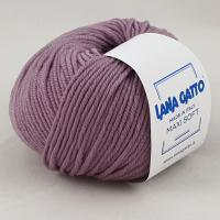 Lana Gatto Maxi Soft (12940 виноград) 100% меринос экстрафайн 50 г/90 м